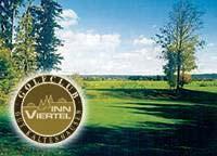 Golfen in Kaltenhausen in Bayern.