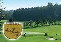 Golfen in Ried auf einem Golfplatz in Bayern.